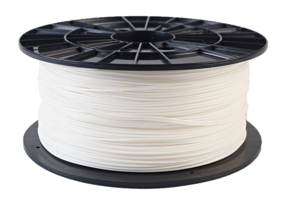 Plasty Mladeč PLA bílá Průměr struny: 1.75 mm, Hmotnost návinu: 1 kg