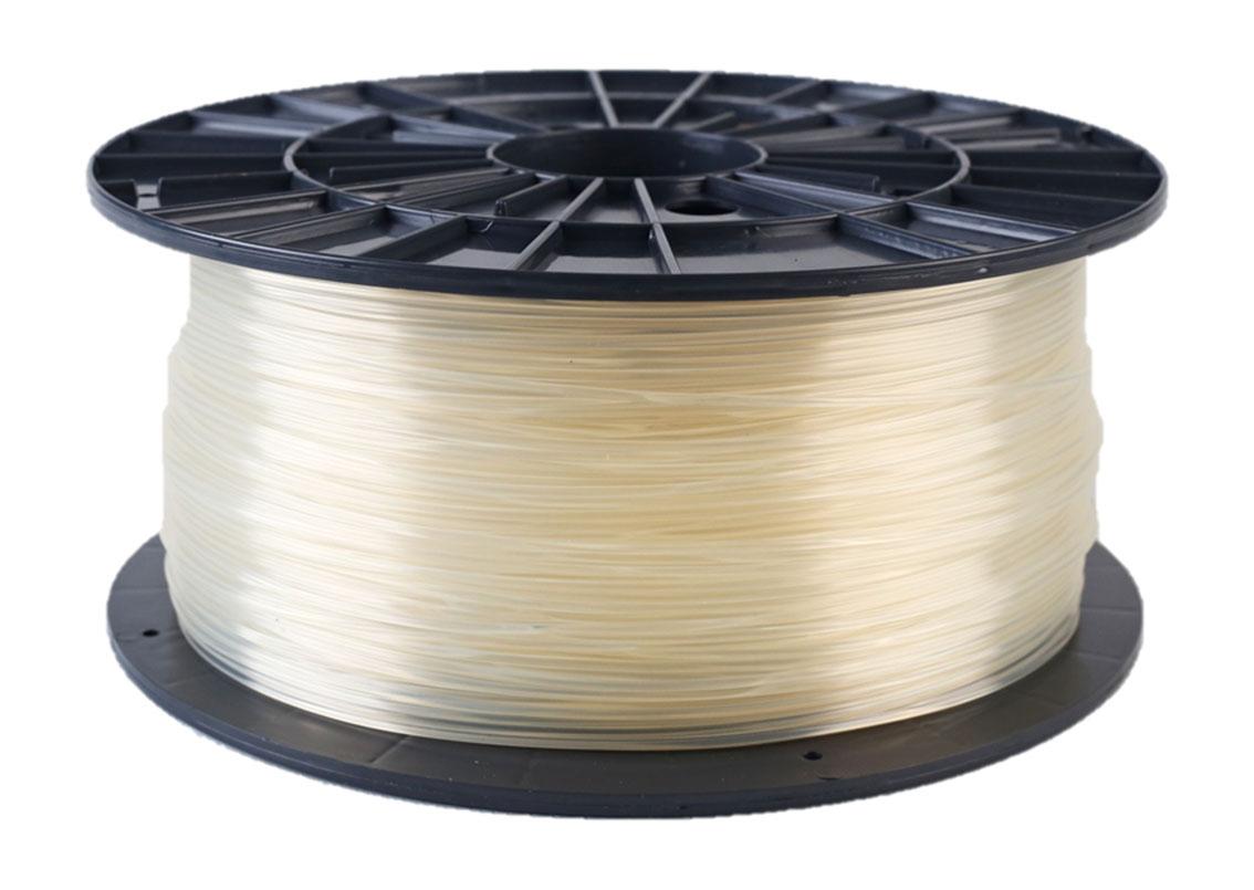 Plasty Mladeč PLA transparentní Průměr struny: 1.75 mm, Hmotnost návinu: 1 kg