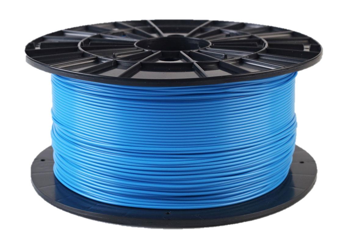 Plasty Mladeč PLA modrá Průměr struny: 1.75 mm, Hmotnost návinu: 1 kg