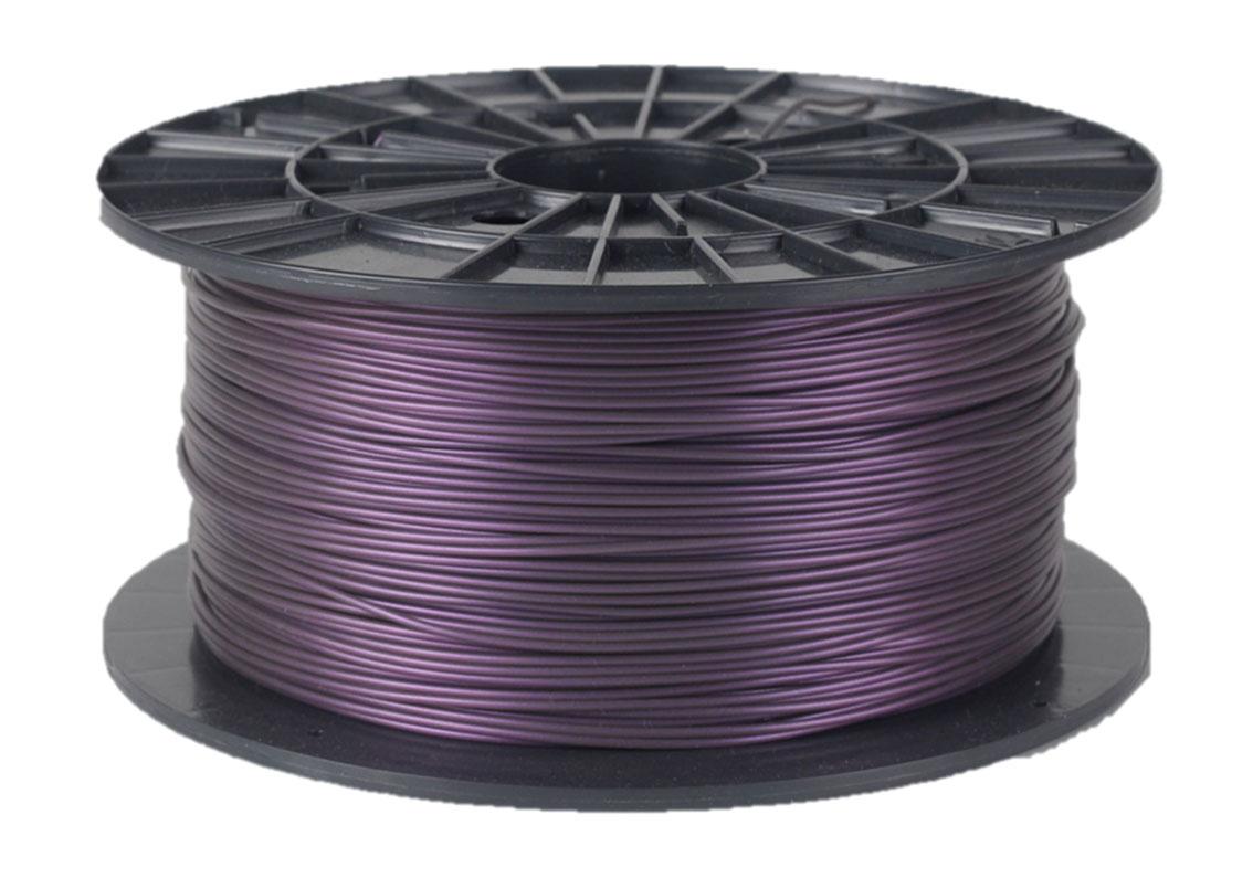 Plasty Mladeč PLA metalická fialová Průměr struny: 1.75 mm, Hmotnost návinu: 1 kg