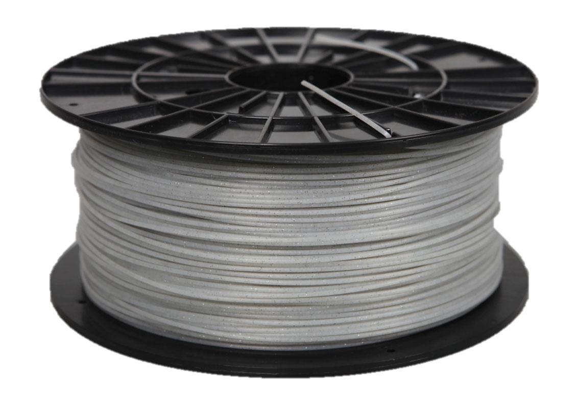 Plasty Mladeč PLA perlová bílá s flitry Průměr struny: 1.75 mm, Hmotnost návinu: 1 kg