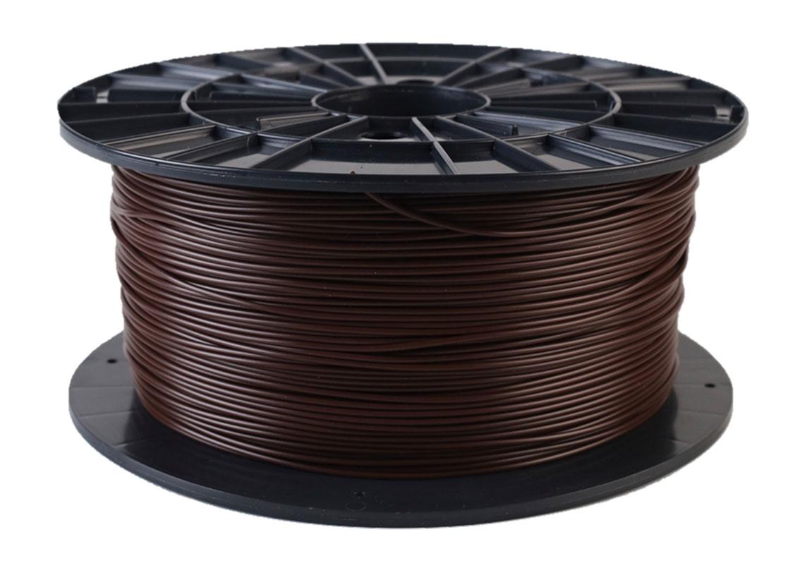 Plasty Mladeč PLA hnědá Průměr struny: 1.75 mm, Hmotnost návinu: 1 kg
