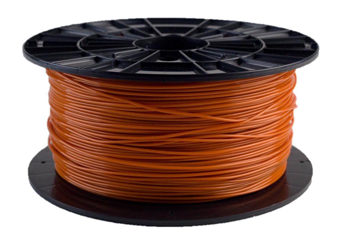 Plasty Mladeč PLA oranžovohnědá Průměr struny: 1.75 mm, Hmotnost návinu: 1 kg